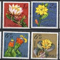 Sellos: POLONIA AÑO 1981 YV 2599/06*** FLORA - FLORES DE CÁCTUS - NATURALEZA. Lote 26288206
