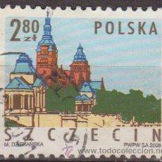 Selos: POLONIA 2005 SCOTT 3779 SELLO º MONUMENTOS CIUDADES POLACAS EDIFICIOS SZCZECIN MICHEL 4185 YV. 3933. Lote 25786716