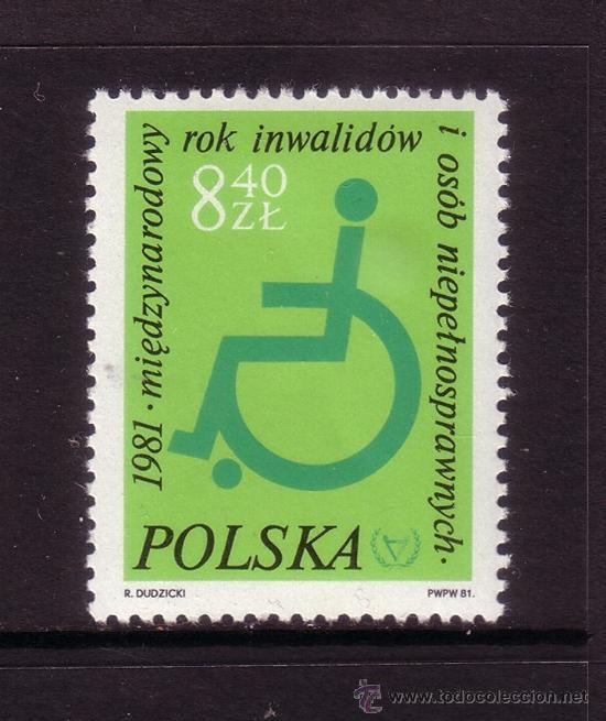 POLONIA 2579*** - AÑO 1981 - AÑO INTERNACIONAL DEL MINUSVALIDO (Sellos - Extranjero - Europa - Polonia)