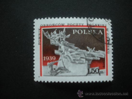 POLONIA 1979 IVERT 2465 - 40º ANIVERSARIO AGRESIÓN ALEMANIA DE HITLER A POLONIA (Sellos - Extranjero - Europa - Polonia)
