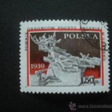 Timbres: POLONIA 1979 IVERT 2465 - 40º ANIVERSARIO AGRESIÓN ALEMANIA DE HITLER A POLONIA. Lote 30242357