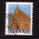 Sellos: POLONIA 3947 - AÑO 2005 - CIUDADES POLACAS - SIERADZ - IGLESIA DE TODOS LOS SANTOS. Lote 165267524