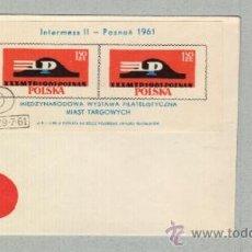 Sellos: POLSKA POZNAN XXX° MTP 1961POZNAN 61 (LOTE) INTERNATIONALE BRIEFMARKENAUSSTELLUNG DER HANDELSSTÄDTE. Lote 35739647