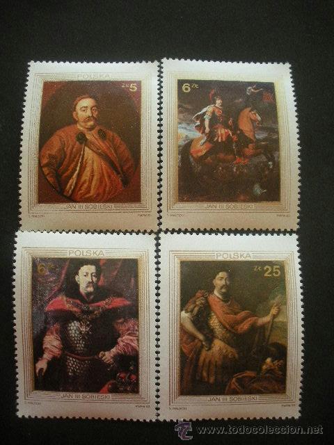 POLONIA 1983 IVERT 2691/4 *** TRICENTANARIO DEL LEVANTAMIENTO DE VIENA - PINTURA - REY JUAN III (Sellos - Extranjero - Europa - Polonia)