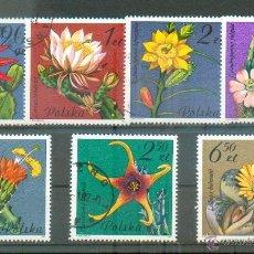 Sellos: FLORES DE CACTUS -- 1981 --2599/2605. Lote 54468820