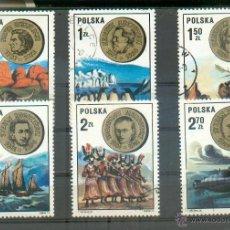 Sellos: POLONIA .- SABIOS E INVESTIGADORES - SELLOS DE 1973 Nº 2121/2126. Lote 44904753