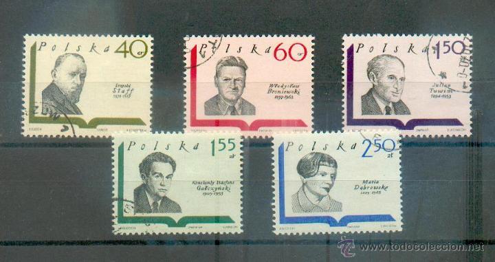 POLONIA - ESCRITORES .- SELLOS DE 1969 Nº 1829 Y SIGUIENTES (Sellos - Extranjero - Europa - Polonia)