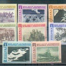 Sellos: POLONIA - HOMENAJE AL EJÉRCITO - SELLOS DE 1968 Nº 1722 Y SIGUIENTES. Lote 44904807