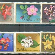 Sellos: POLONIA - FLORES - SELLOS DE 1972 Nº 2058 Y SIGUIENTES. Lote 47016165