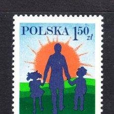 Sellos: POLONIA 2400** - AÑO 1978 - CENTENARIO DEL NACIMIENTO DEL ESCRITOR JANUSZ KORCZAK. Lote 103898987