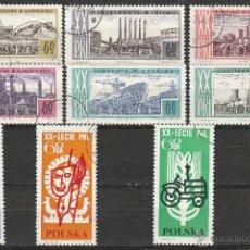 Sellos: POLONIA. 1964. 20º ANIVERSARIO REPUBLICA. SERIE. *,MH. Lote 49020060