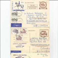 Sellos: 1965 - LOTE DE TARJETAS POSTALES - POLONIA. Lote 49522452