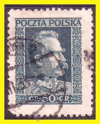 POLONIA 1928 IVERT Nº 340 (O) (Sellos - Extranjero - Europa - Polonia)