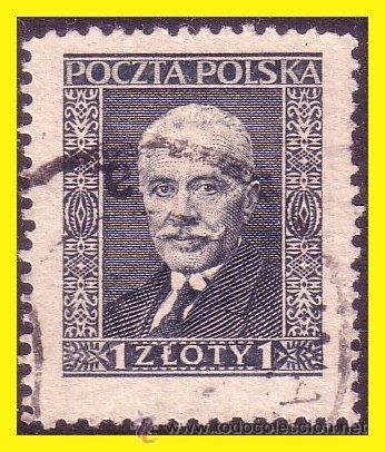 POLONIA 1928 IVERT Nº 341 (O) (Sellos - Extranjero - Europa - Polonia)