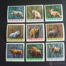 Sellos: POLONIA Nº YVERT 1483/1*** AÑO 1965. FAUNA. ANIMALES DE LOS BOSQUES. Lote 50209064