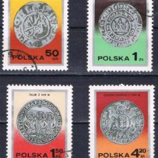 Sellos: POLONIA - LOTE 4 SELLOS - MONEDAS (USADO) LOTE 42. Lote 50777594