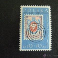 Sellos: POLONIA Nº YVERT 1042*** AÑO 1960. EXPOSICION DE FILATELIA POLSKA 60. Lote 50796715