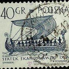 Sellos: POLONIA 1965- YV 1419. Lote 76636431