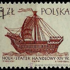 Sellos: POLONIA 1965- YV 1421. Lote 76636481