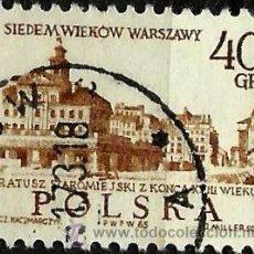 Sellos: POLONIA 1965- YV 1452. Lote 52000199