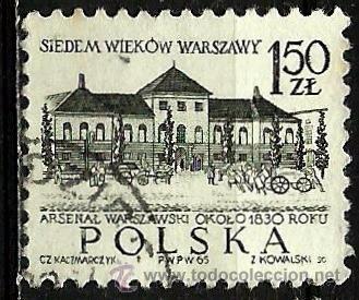 POLONIA 1965- YV 1454 (Sellos - Extranjero - Europa - Polonia)