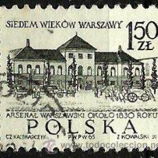Sellos: POLONIA 1965- YV 1454. Lote 52000256