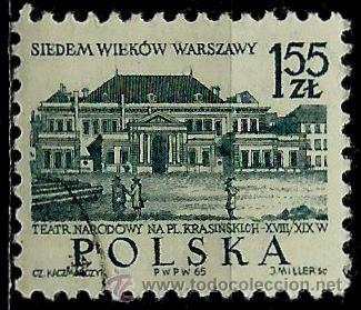 POLONIA 1965- YV 1455 (Sellos - Extranjero - Europa - Polonia)