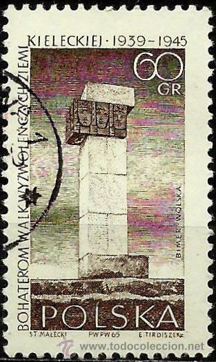 POLONIA 1965- YV 1493 (Sellos - Extranjero - Europa - Polonia)