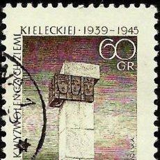 Sellos: POLONIA 1965- YV 1493. Lote 52000298