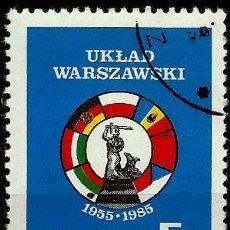 Sellos: POLONIA 1985- YV 2786. Lote 52005770