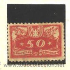 Sellos: POLONIA 1920 - YVERT NRO. 16 SERVICE - SIN GOMA. Lote 52444384