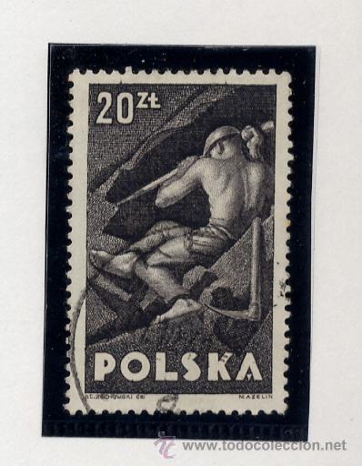 Sellos: POLONIA - LOTE DE 120 SELLOS DISTINTOS ENTRE 1939 Y 1959 - USADOS Y NUEVOS - VER FOTOS DE TODOS - - Foto 8 - 52734381