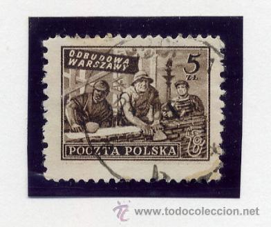 Sellos: POLONIA - LOTE DE 120 SELLOS DISTINTOS ENTRE 1939 Y 1959 - USADOS Y NUEVOS - VER FOTOS DE TODOS - - Foto 18 - 52734381