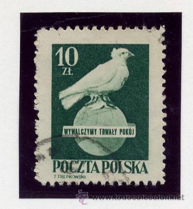 Sellos: POLONIA - LOTE DE 120 SELLOS DISTINTOS ENTRE 1939 Y 1959 - USADOS Y NUEVOS - VER FOTOS DE TODOS - - Foto 19 - 52734381