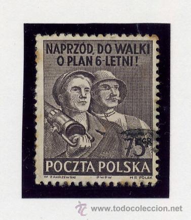 Sellos: POLONIA - LOTE DE 120 SELLOS DISTINTOS ENTRE 1939 Y 1959 - USADOS Y NUEVOS - VER FOTOS DE TODOS - - Foto 25 - 52734381