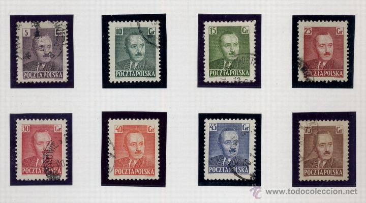 Sellos: POLONIA - LOTE DE 120 SELLOS DISTINTOS ENTRE 1939 Y 1959 - USADOS Y NUEVOS - VER FOTOS DE TODOS - - Foto 26 - 52734381