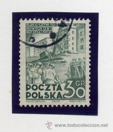 Sellos: POLONIA - LOTE DE 120 SELLOS DISTINTOS ENTRE 1939 Y 1959 - USADOS Y NUEVOS - VER FOTOS DE TODOS - - Foto 30 - 52734381