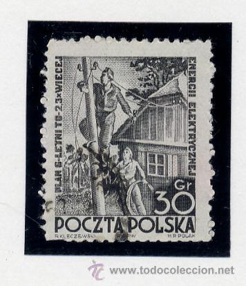 Sellos: POLONIA - LOTE DE 120 SELLOS DISTINTOS ENTRE 1939 Y 1959 - USADOS Y NUEVOS - VER FOTOS DE TODOS - - Foto 31 - 52734381
