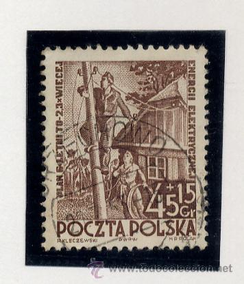 Sellos: POLONIA - LOTE DE 120 SELLOS DISTINTOS ENTRE 1939 Y 1959 - USADOS Y NUEVOS - VER FOTOS DE TODOS - - Foto 32 - 52734381
