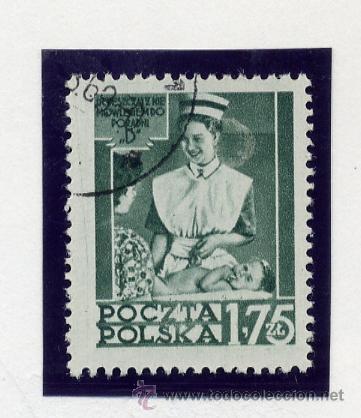 Sellos: POLONIA - LOTE DE 120 SELLOS DISTINTOS ENTRE 1939 Y 1959 - USADOS Y NUEVOS - VER FOTOS DE TODOS - - Foto 37 - 52734381