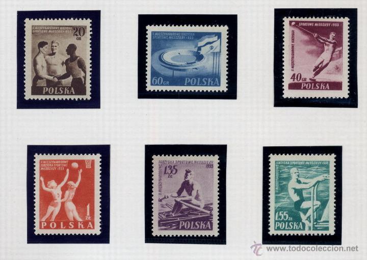 Sellos: POLONIA - LOTE DE 120 SELLOS DISTINTOS ENTRE 1939 Y 1959 - USADOS Y NUEVOS - VER FOTOS DE TODOS - - Foto 44 - 52734381