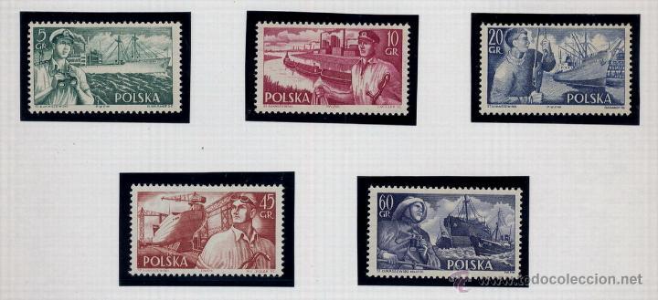 Sellos: POLONIA - LOTE DE 120 SELLOS DISTINTOS ENTRE 1939 Y 1959 - USADOS Y NUEVOS - VER FOTOS DE TODOS - - Foto 46 - 52734381
