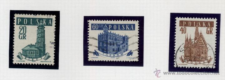 Sellos: POLONIA - LOTE DE 120 SELLOS DISTINTOS ENTRE 1939 Y 1959 - USADOS Y NUEVOS - VER FOTOS DE TODOS - - Foto 59 - 52734381