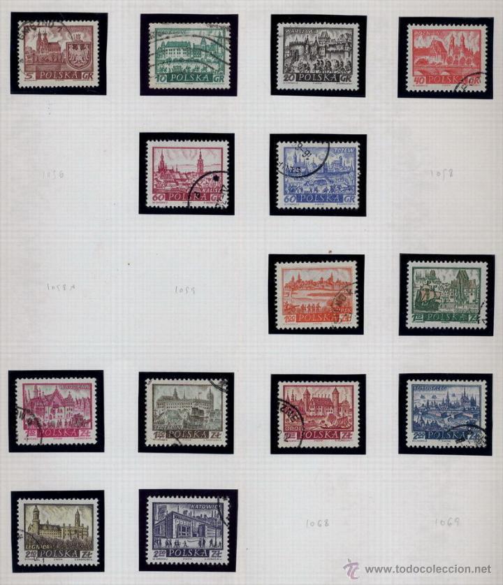 Sellos: POLONIA - LOTE DE 120 SELLOS DISTINTOS ENTRE 1959 Y 1964 - USADOS Y NUEVOS - VER FOTOS DE TODOS - - Foto 17 - 52734652