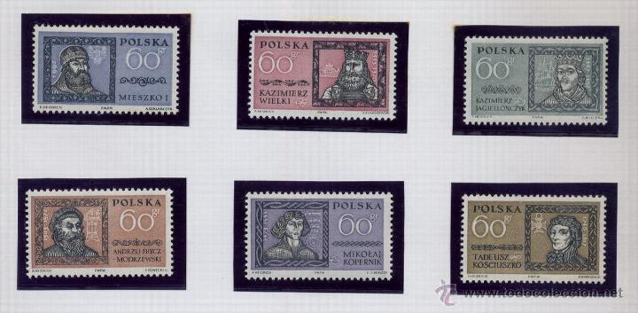 Sellos: POLONIA - LOTE DE 120 SELLOS DISTINTOS ENTRE 1959 Y 1964 - USADOS Y NUEVOS - VER FOTOS DE TODOS - - Foto 20 - 52734652