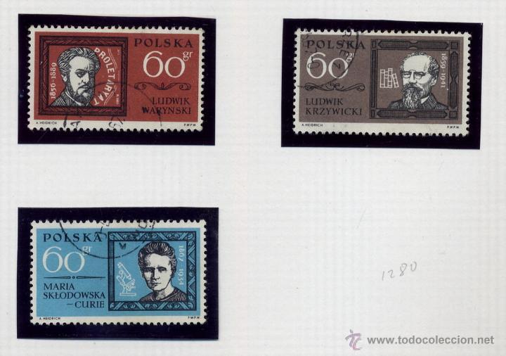 Sellos: POLONIA - LOTE DE 120 SELLOS DISTINTOS ENTRE 1959 Y 1964 - USADOS Y NUEVOS - VER FOTOS DE TODOS - - Foto 36 - 52734652