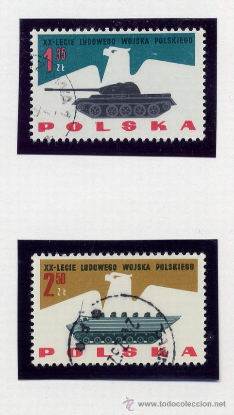 Sellos: POLONIA - LOTE DE 120 SELLOS DISTINTOS ENTRE 1959 Y 1964 - USADOS Y NUEVOS - VER FOTOS DE TODOS - - Foto 37 - 52734652