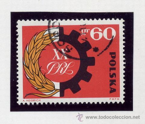 Sellos: POLONIA - LOTE DE 120 SELLOS DISTINTOS ENTRE 1959 Y 1964 - USADOS Y NUEVOS - VER FOTOS DE TODOS - - Foto 39 - 52734652