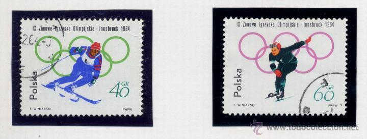Sellos: POLONIA - LOTE DE 120 SELLOS DISTINTOS ENTRE 1959 Y 1964 - USADOS Y NUEVOS - VER FOTOS DE TODOS - - Foto 47 - 52734652