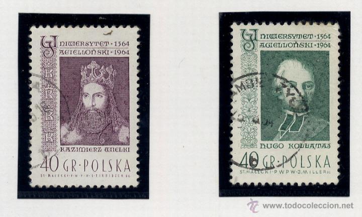 Sellos: POLONIA - LOTE DE 120 SELLOS DISTINTOS ENTRE 1959 Y 1964 - USADOS Y NUEVOS - VER FOTOS DE TODOS - - Foto 51 - 52734652